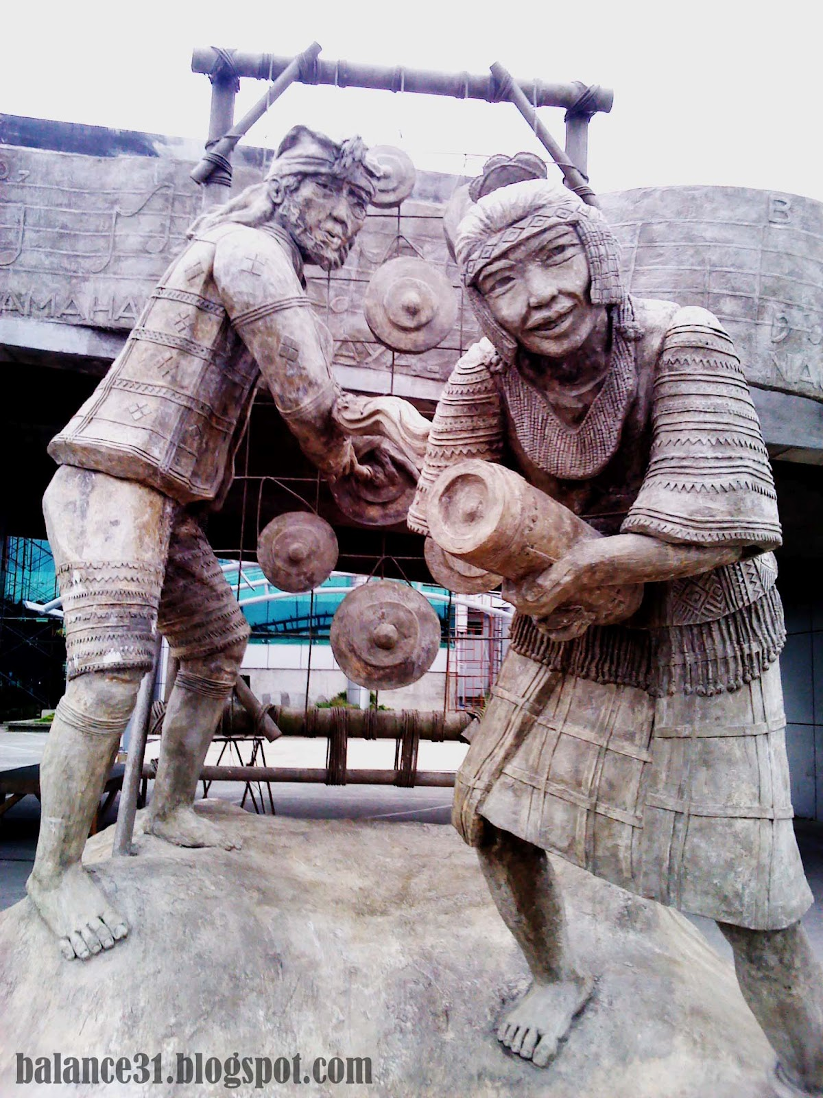 Aside from being dubbed as palm city of the philippines these statues also proves that tagum city is the music capital of mindanao