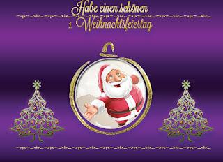 1. Weihnachtsfeiertage
