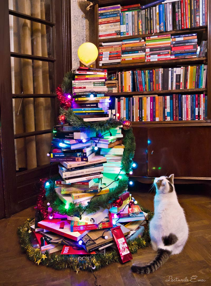 Brad de Crăciun din cărți