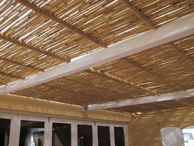 Plafon bambu
