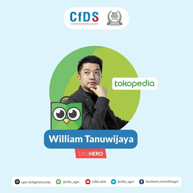 Biografi William Tanuwijaya Sang Pendiri Tokopedia