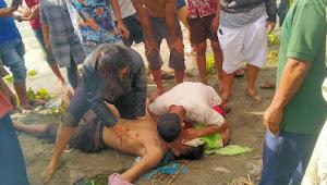 Diduga Kelelahan, Bosman Nainggolan Tewas Tenggelam di Pantai Marlumba Samosir