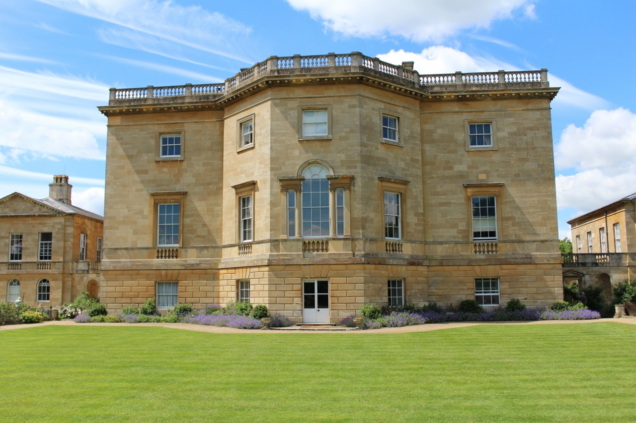 The house at Basildon Park