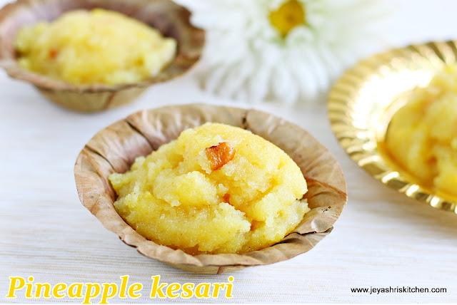 pineapple - kesari