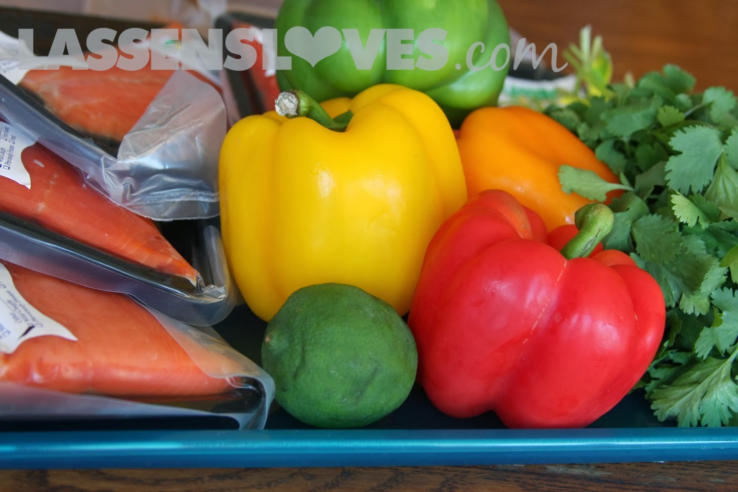 lassensloves.com, Lassen's, Lassens, Salmon+Recipe, Salmon+Peppers+Recipe