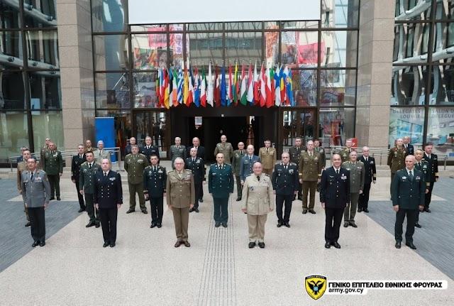 Συμμετοχή Α/ΓΕΕΦ στη Σύνοδο Στρατιωτικής Επιτροπής της Ευρωπαϊκής Ένωσης (ΦΩΤΟ)