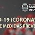 As medidas da Prefeitura Municipal para enfrentamento do coronavírus