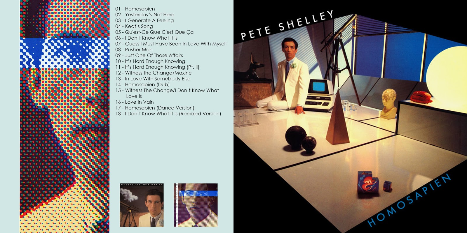 All the Air In My Lungs: Pete Shelley - Homosapien - 1981