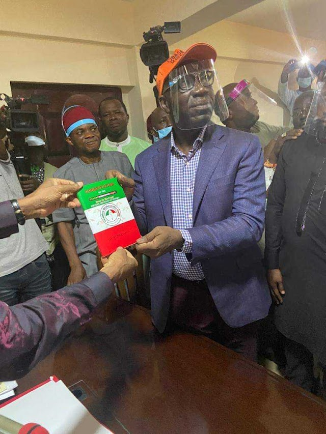 Ize-Iyamu To Obaseki: How Much Dollars Did You Pay PDP For Governorship Ticket?
