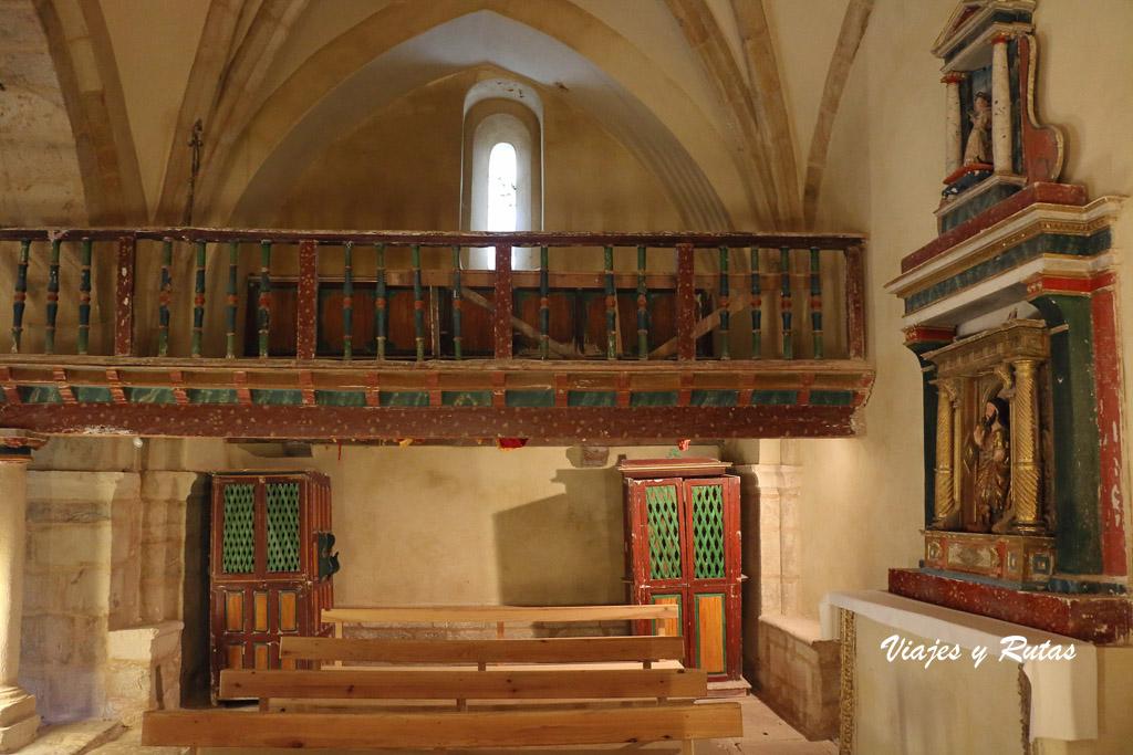 Coro de la Iglesia de San Andrés de Gama