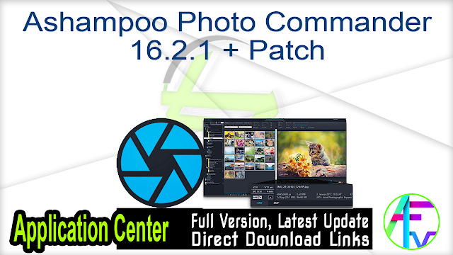 Ashampoo Photo Commander 16.2.1 + Patch