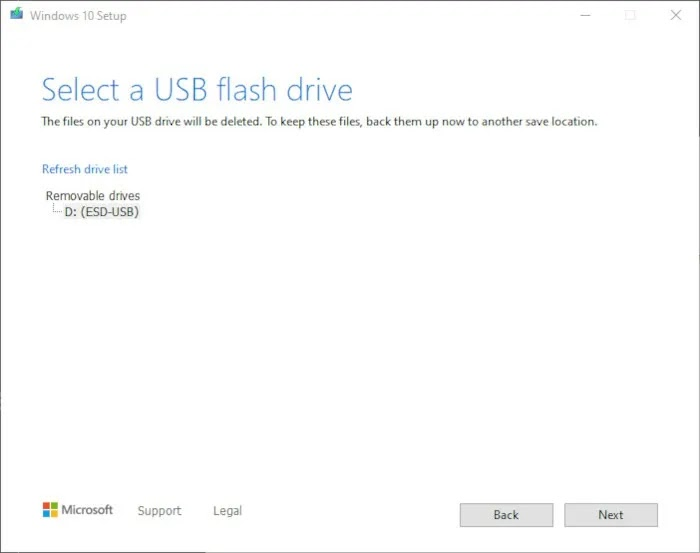 قم بتثبيت Windows 10 2021 الخطوة 5