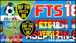 FTS 18 v2 Mod by Asep Ifan Apk + Data Obb