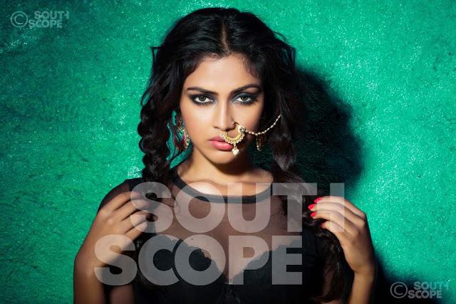 Actress Amala Paul South Scope Hot Photoshoot