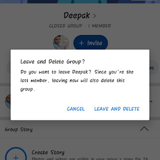 how to delete Facebook group in Hindi
