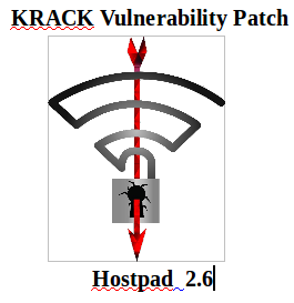 steps to compile & patch WPA2 Security Vulnerable to KRACK Attacks, KRACK, KRACK Attacks, KRACK Vulnerability, wifi security patch, Wi-Fi, KRACK Wi-Fi vulnerability, Wi-Fi WPA2 Security Vulnerable to KRACK Attacks, compile hostapd, compile hostapd 2.6, wpa, wpa2 security,