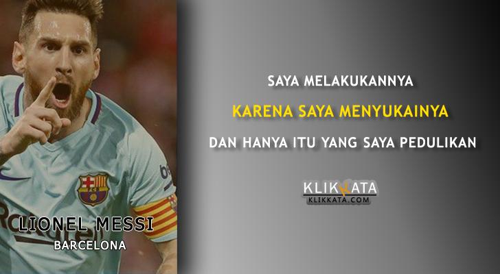 Kata Kata Bijak Messi