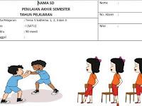 Soal UAS/PAS Kelas 1 Tema 5 Sub Tema 1, 2, 3, 4 dan Kunci Jawaban