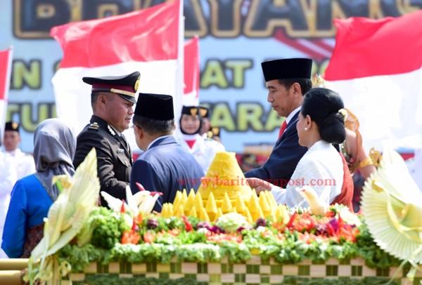 Lima Instruksi Presiden Jokowi untuk Polri di HUT ke-73 Bhayangkara