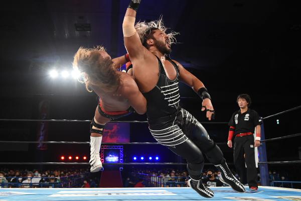EVIL and Tetsuya Naito in G1 Climax 30