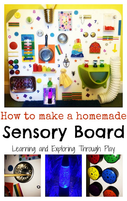 DIY Sensory Board Fun for Children