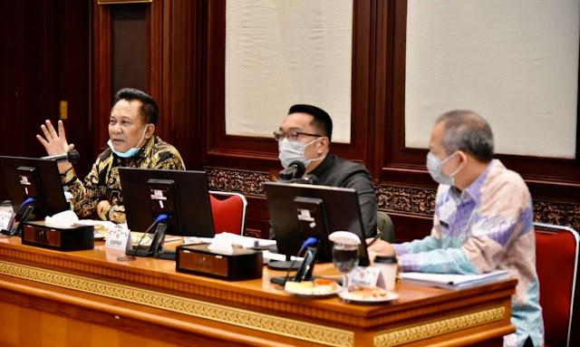 Perubahan Anggaran Dana Penanganan Covid-19 Jabar Disorot Dewan