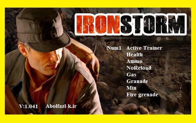 Iron Storm: Trainer (+8) [1.041]