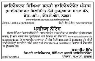 Punjab Education Recruitment Board Master Cadre Science Teachers Jobs.jpgPunjab Education Recruitment Board Master Cadre Hindi Teachers Jobs.jpg