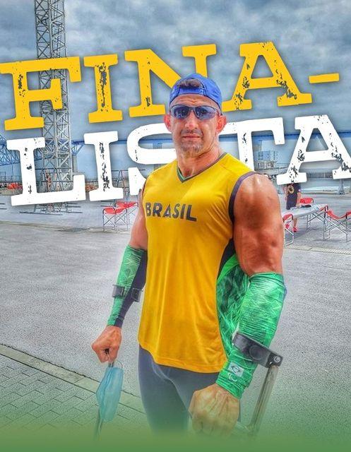 Fernando Rufino Cowboy disputa hoje 03/09 a final da canoa VL3 nas Paralimpíadas de Tóquio