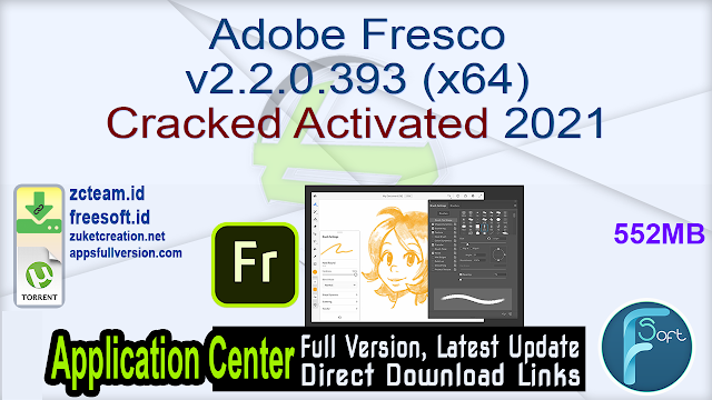 Adobe Fresco v2.2.0.393 (x64) Cracked Activated 2021
