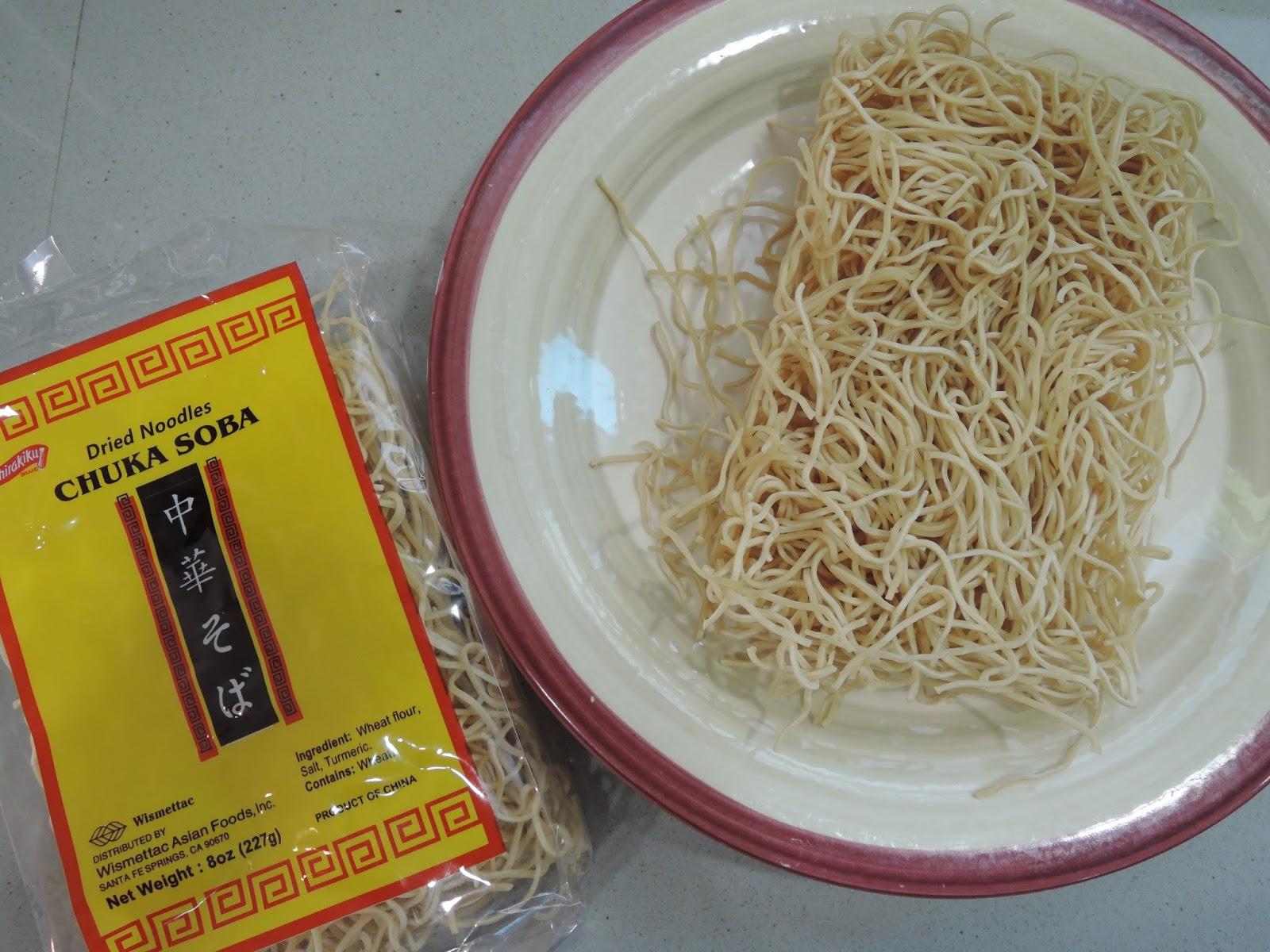 The Briny Lemon: Chicken Ramen Bowl with Miso Broth