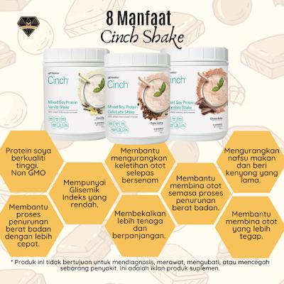 8 Manfaat Cinch Shake