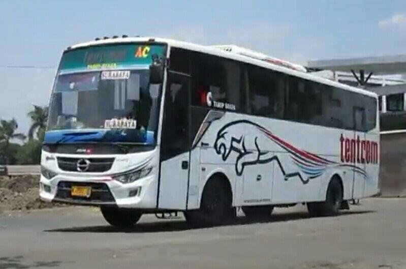 bus tentrem malang surabaya
