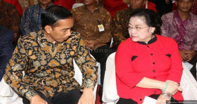 Kalau Mega Sudah Tak Mau Temui Jokowi, Baru Kita Yakin Hubungan Mereka tak Harmonis