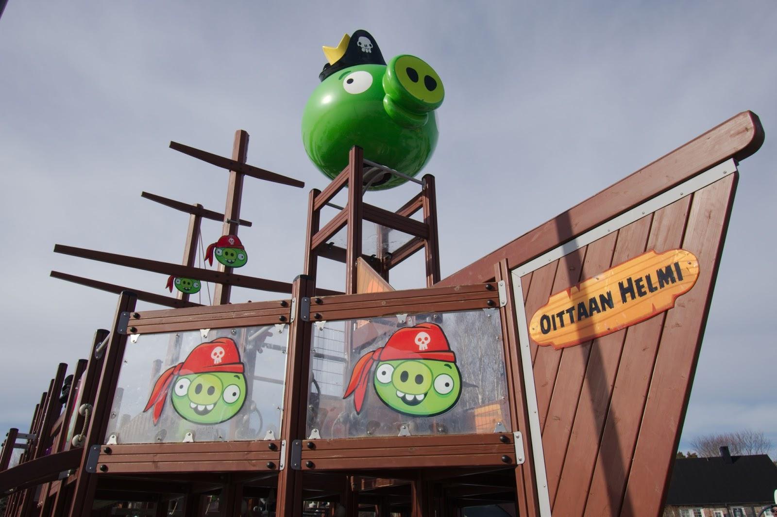 Oittaa, Angry Birds -puisto
