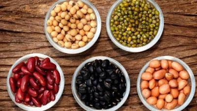 kacang mengandung zat besi tinggi