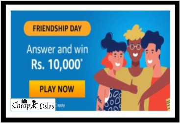Amazon Friendship Day Quiz Answers – Win Rs. 10,000