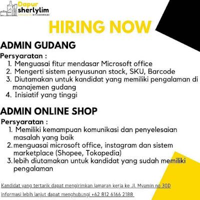 Lowongan Kerja Admin Gudang Admin Online Shop Karir Riau