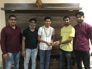 जैन समाज के एकता मंडल ने तपस्वी का किया सम्मान