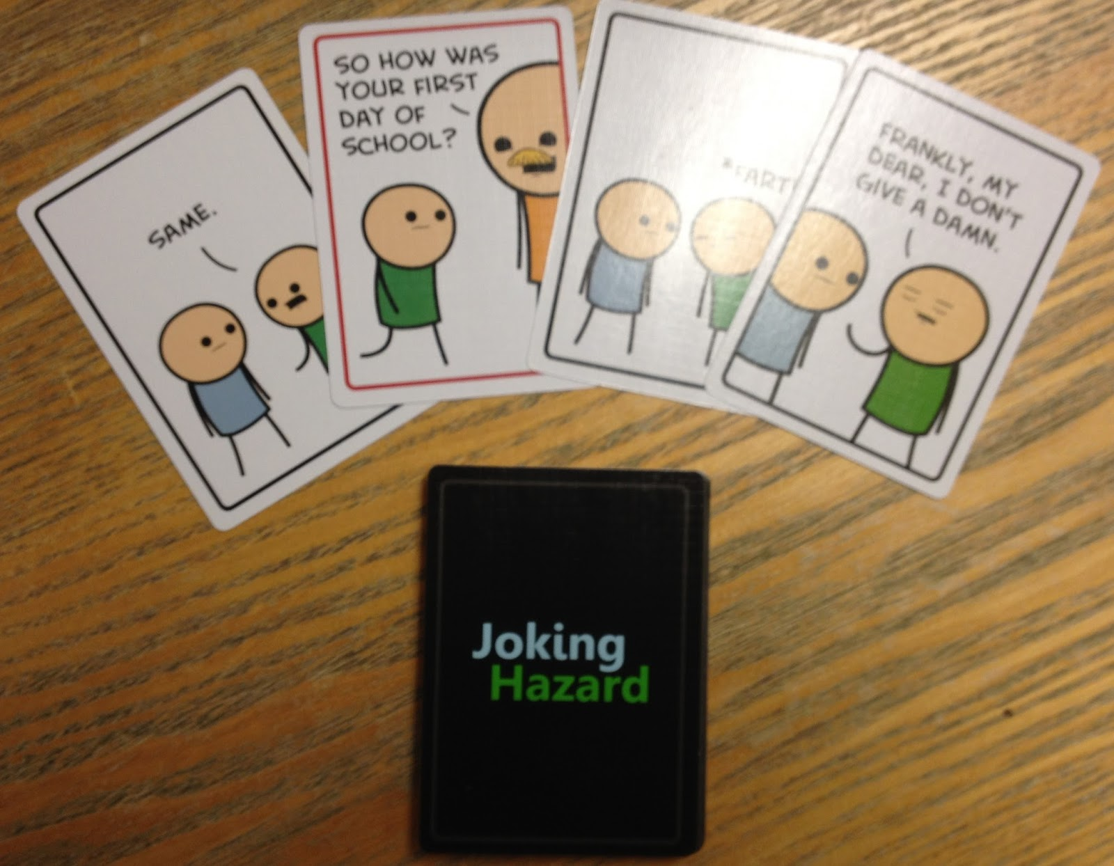 Games Tea Joking Hazard An Offensive Card Game From Cyanide - Map of the us hazards comic