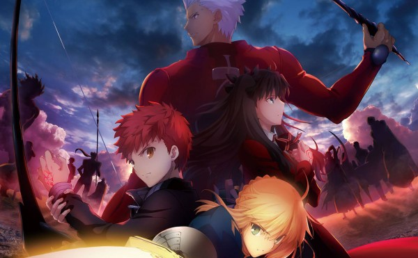 Anime action yang terbaik- Fate/stay night: Unlimited Blade Works