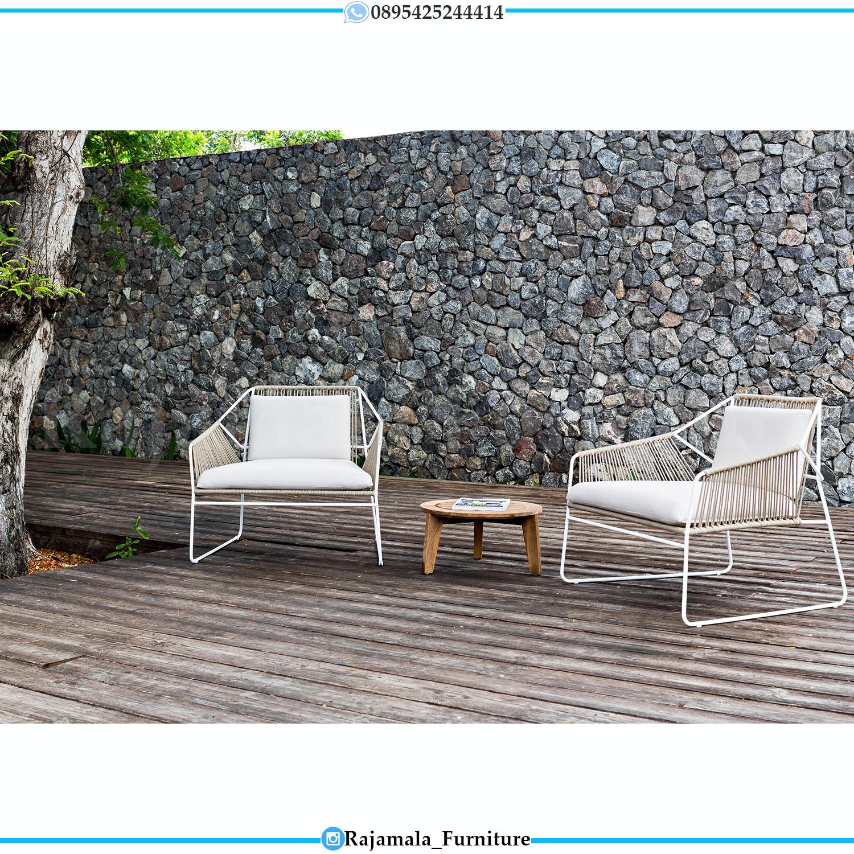 Kursi Rotan Sintetis Minimalis Simple Design Luxury Furniture Jepara RM-0191