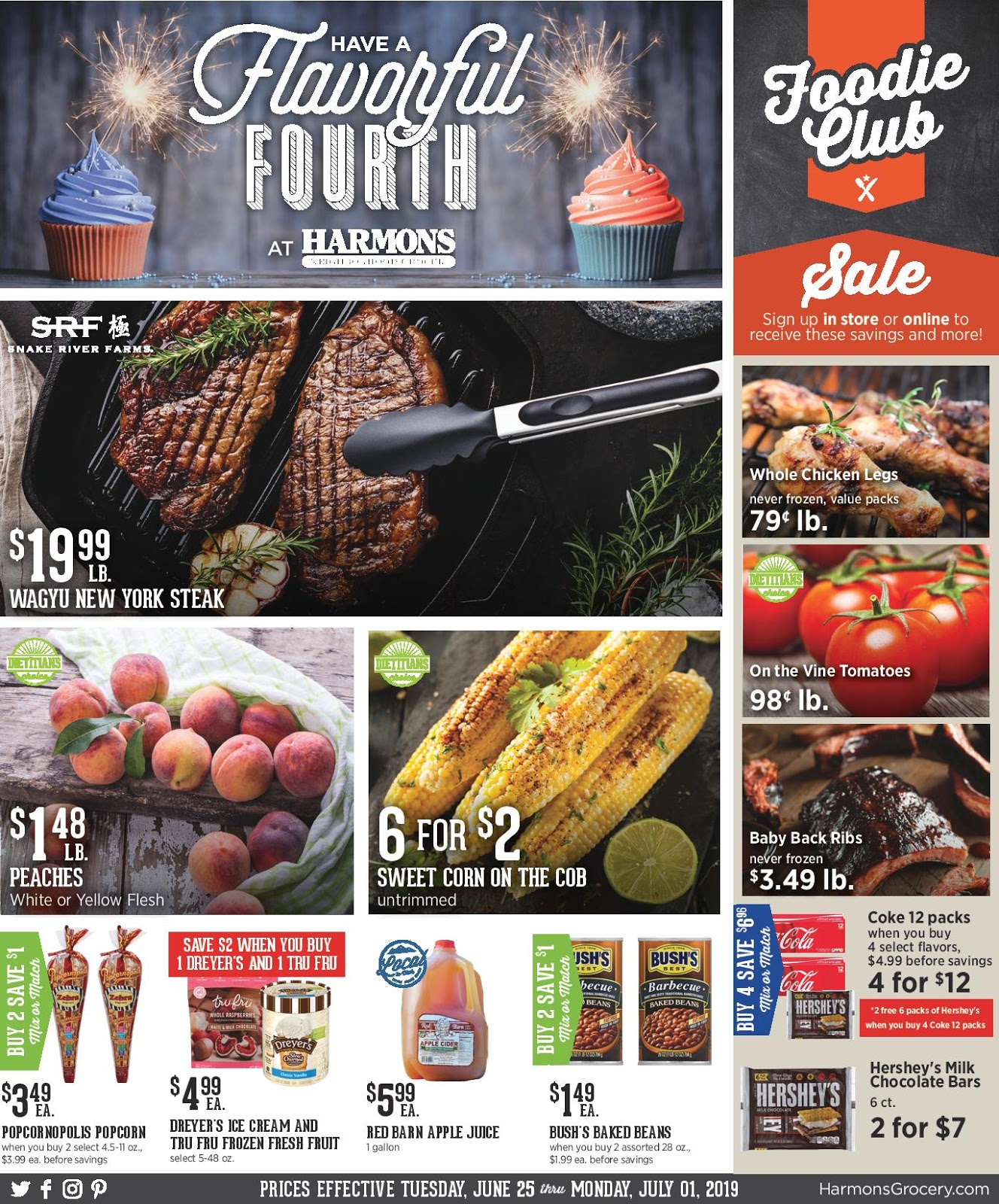 picture about Harmons Printable Coupons known as Harmons Advert Round July 9 - July 15, 2019 or 7/10/19