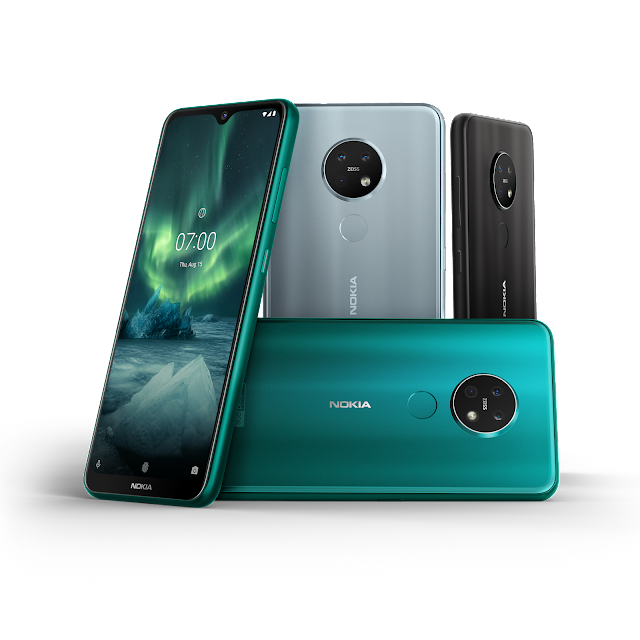 Nokia 7.2 and Nokia 6.2 Lounched AT IFA 2019 with circular camera desing-gyans latest Nepali's Blog