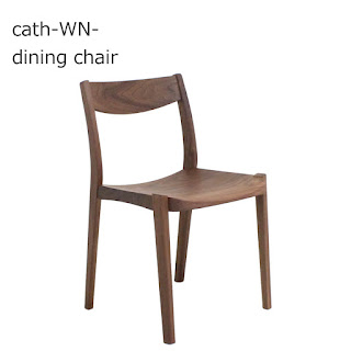 【DC-S-131-WN】キャス-WN- dining chair