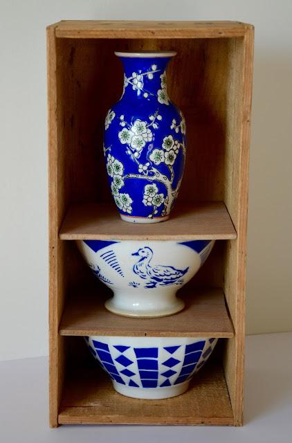 La petite verri re bols japonais et boite en bois for Etagere japonaise