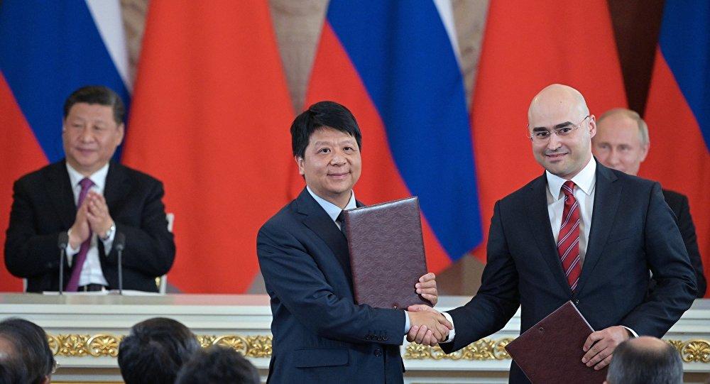 """صفقة بين هواوي وشركة """"إم تي سي"""" الروسية تثير رعب الأمريكيين، التفاصيل"""