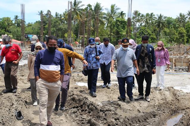 Caswiyono Rushdie Tinjau Lokasi Pilot Project Kawasan Agromaritim Teluk Weda.lelemuku.com.jpg