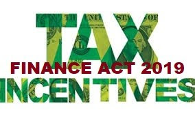 Tax Incentives And Reliefs Available In The Finance Act 2019