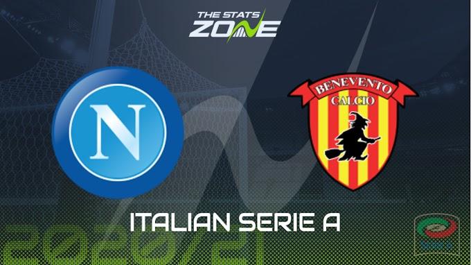 مشاهدة مباراة نابولي و بينفينتو بث مباشر